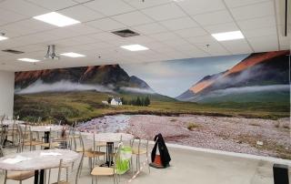 Digitally Printed Wall Graphics
