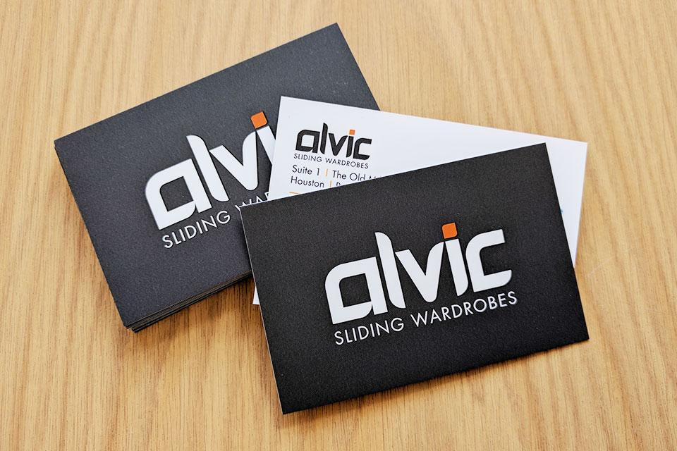 Alvic Business Cards