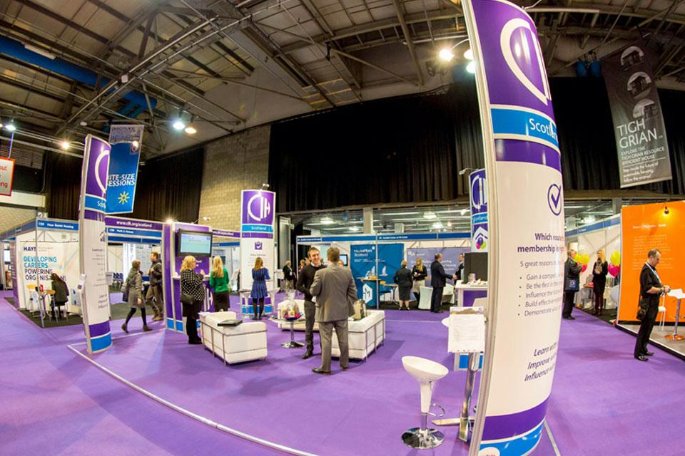 CIH Exhibition Stand