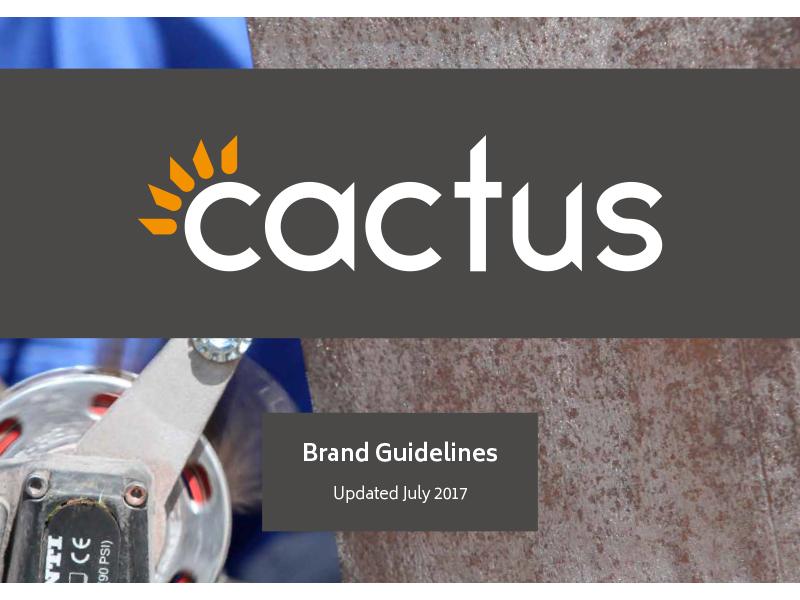Cactus Brand Guides