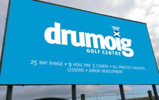 Drumoig Golf Centre Signage