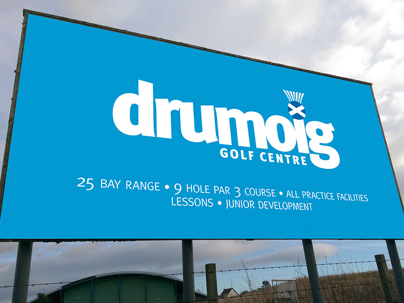 Drumoig Golf Centre Signage