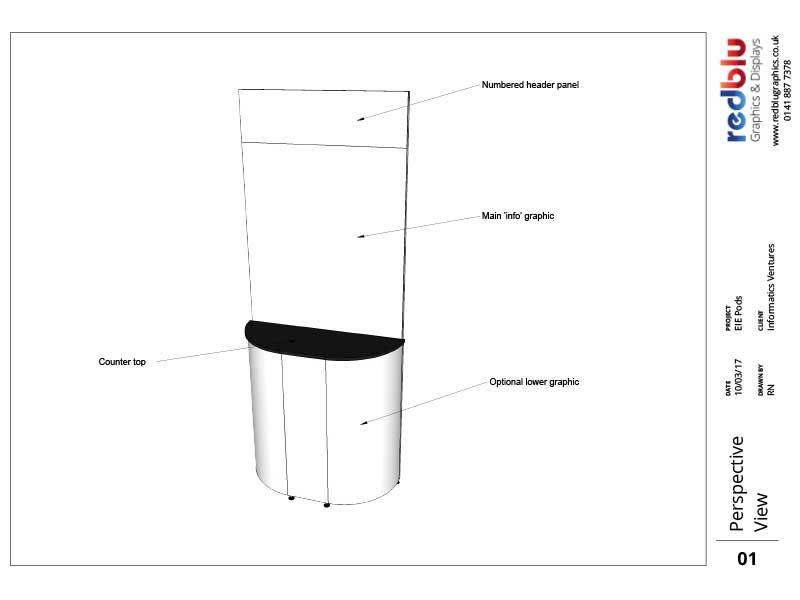 EIE Event Pods - 3D Design