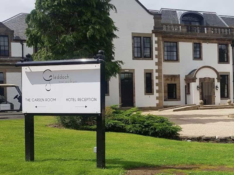 Gleddoch House Hotel Signage