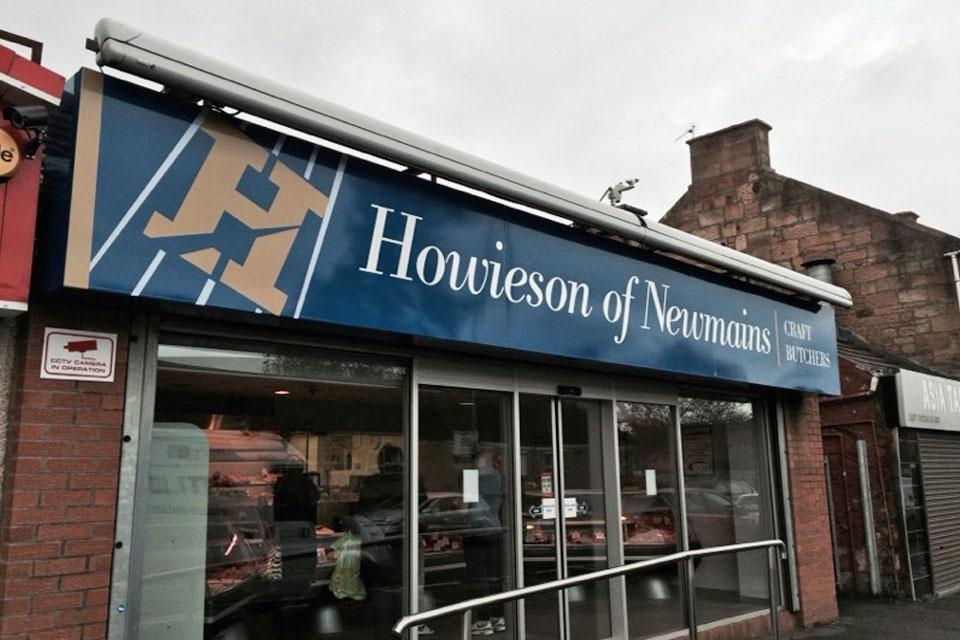Howieson Fascia Sign