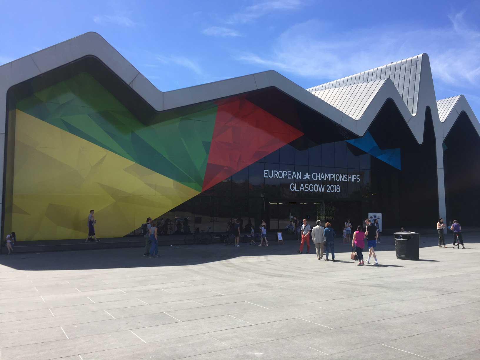 Riverside Museum European Championships 2018