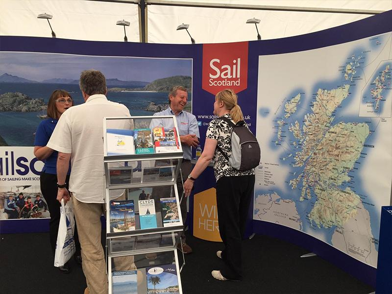 Sail Scotland ISOframe Wave Stand