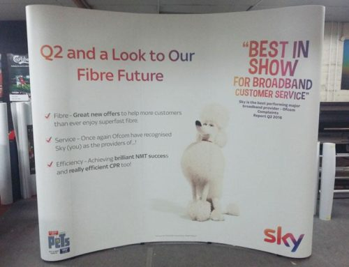 Sky – Roadshow Displays