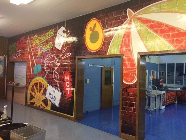 Largs School Mural