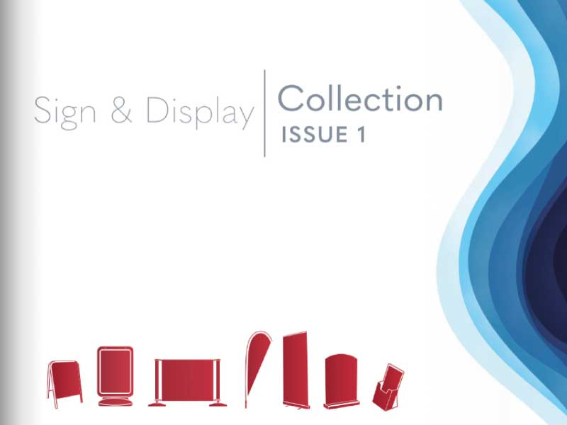 Redblu Signs & Display Collection Cover