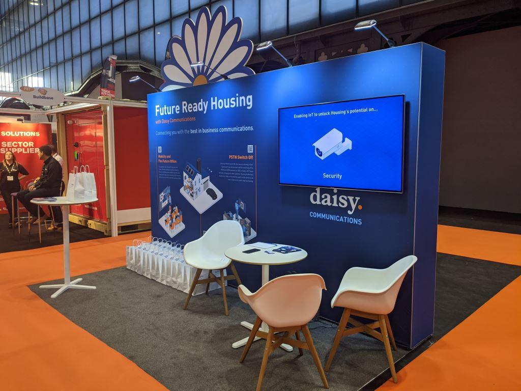 4m x 2m exhibition stand
